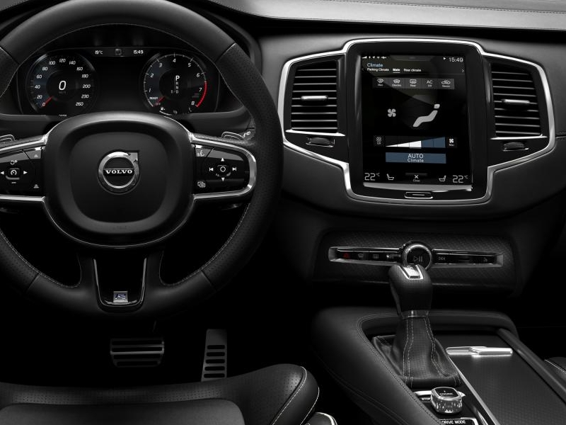 Volvo image gallery 2016 volvo xc90 r design interior for A r interior decoration llc