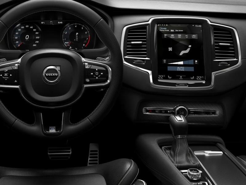 Volvo image gallery 2016 volvo xc90 r design interior for A r interior decoration llc
