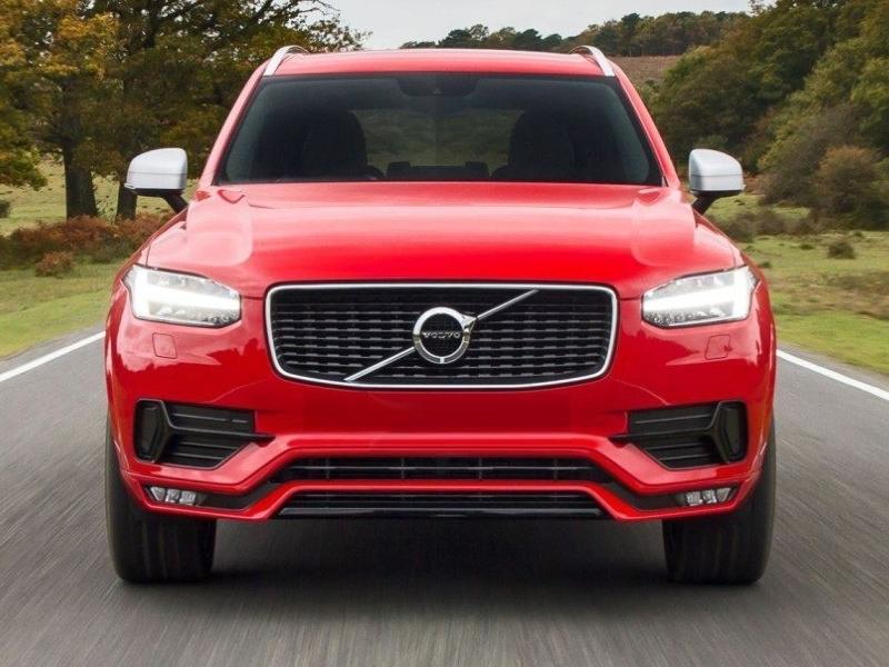 Volvo Image Gallery: 2016 Volvo XC90 R-Design Passion Red
