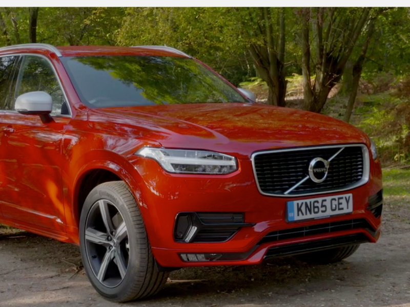 Volvo Image Gallery 2016 Volvo Xc90 R Design Passion Red