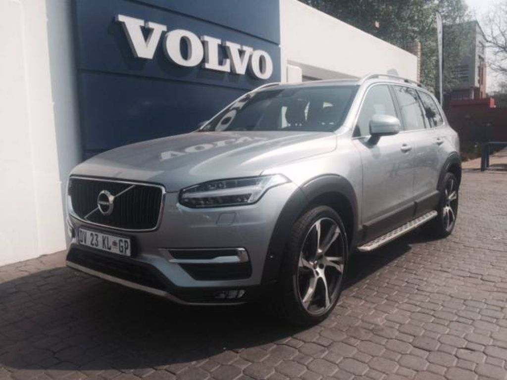 Volvo Image Gallery: 2016 Volvo XC90 T6 AWD Electric Silver